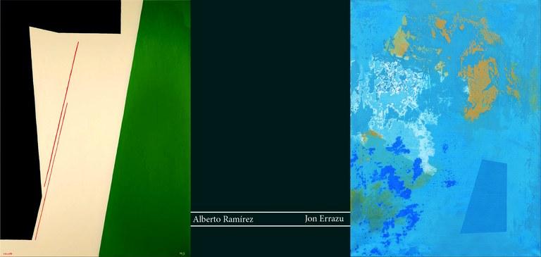 """Alberto Ramírez eta Jon Errazu herritarren """"Abstrakzioa // Abstracción"""" erakusketa"""