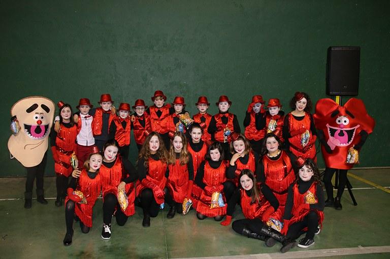 Aratosteetako koreografia erakustaldia