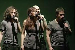 Demode Quartet taldearen ikuskizuna