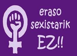 Eraso sexisten aurkako elkarretaratzea