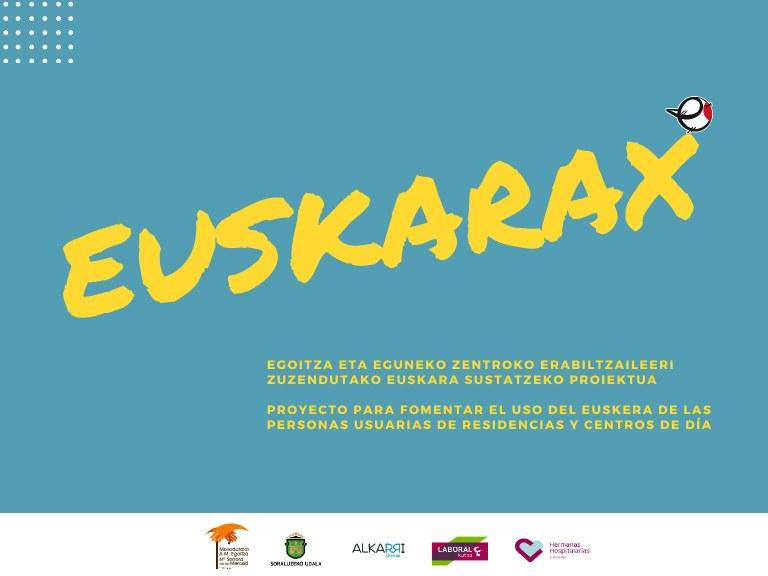 """""""EuskaraX"""" egitasmoa"""