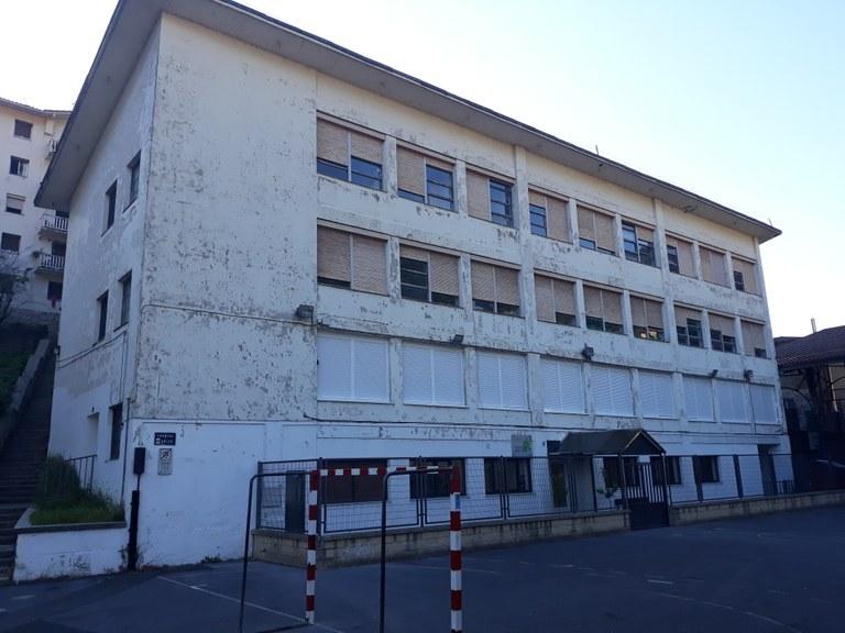 Frontoiko eraikina zaharberritzeko lanak
