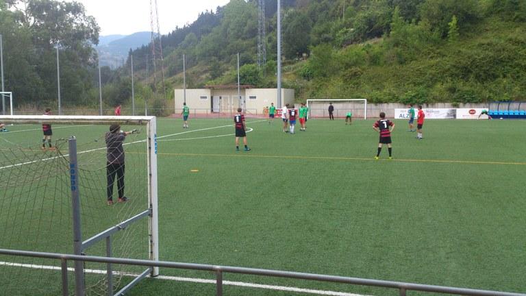 """Soraluzeko """"Futbol 7"""" txapelketa"""
