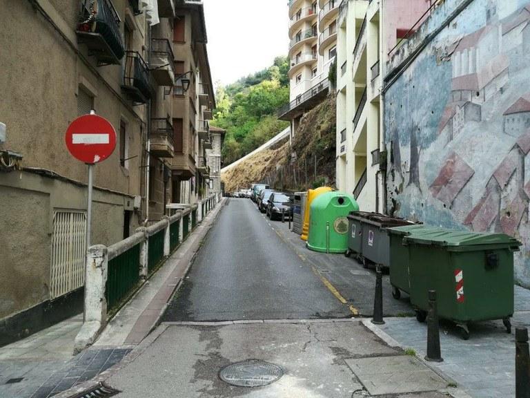 Gabolats kalearen urbanizazioa