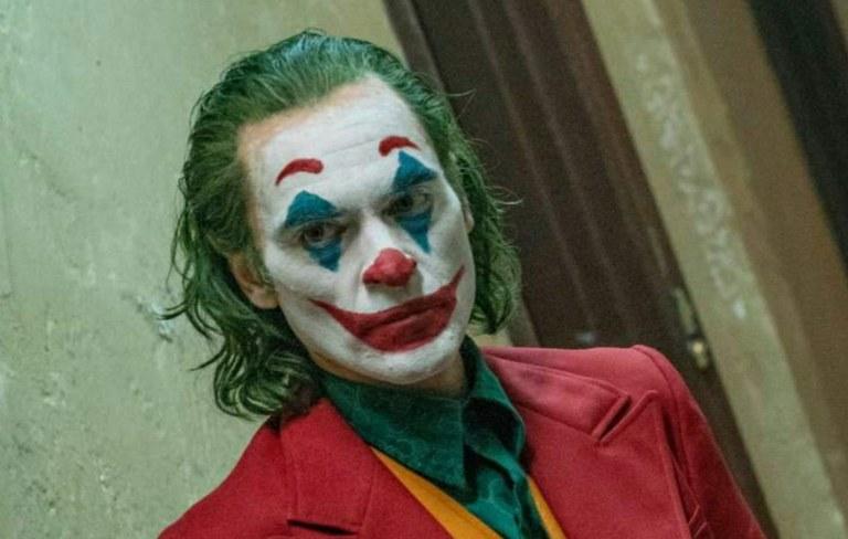 """""""Joker"""" pelikularen proiekzioa"""