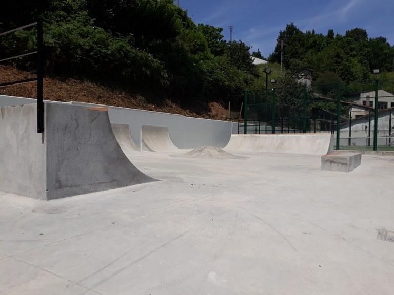 Skate park berriaren inaugurazioa